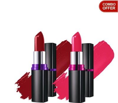 Maybelline Color Show Lipstick(Burgundy Blend - 409) with Crushed Candy - 103 Color Show Lipstick