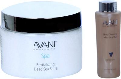 Avani Revitalizing Dead Sea Salts And Deep Cleansing Mud Facial Gel