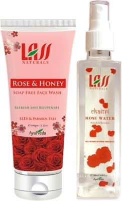 Lass Naturals Combos of Face wash and Tonner