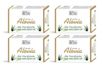 Besure Aloe Vera Soap Pack of 4 with JoJoba oil