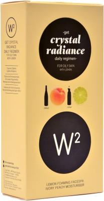 W2 Crystal Radiance Daily Regimen for Oily Skin