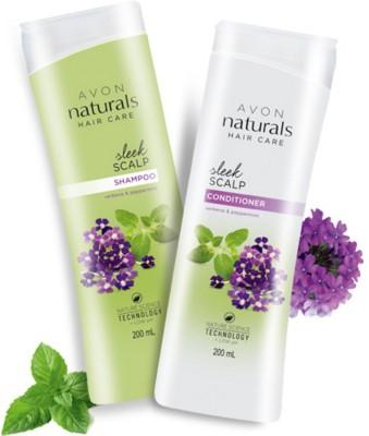 Avon Verbena & Peppermint Shampoo (200ml) + Conditioner (200ml)