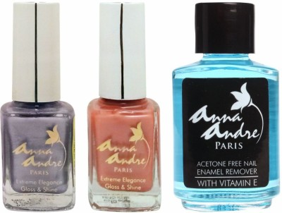 Anna Andre Paris Nail Polish - Butterfly Flutter Duo Set & Nail Polish Remover