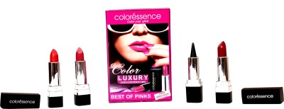 Coloressence Luxury for Luscious Lips - Best of Pink