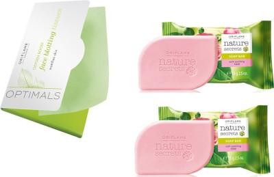 Oriflame Sweden Blotting Tissue-Soaps Combo