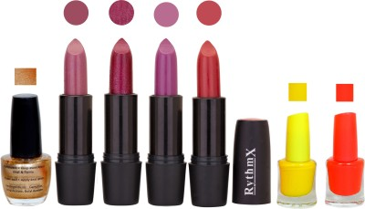 RYTHMX GSR RYTH BLK LIPSTICKS AND NAIL POLISH IMPORTANT COMBO 055