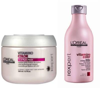 L,Oreal Paris Professionnel Serie Vitamino Color Shampoo & Masque