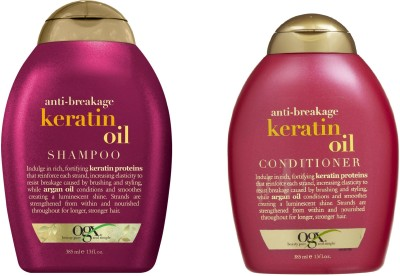 Ogx Anti Breakage Keratin Oil ( Organix ) Conditioner And Shampoo