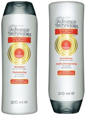 Avon Advance Techniques Anti-Hair Fall Shampoo & Conditioner (200 ml each)