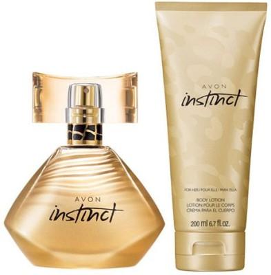Avon Instinct For Her Body Lotion (200ml) + Eau de Parfum (30ml)