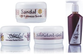 Adidev Herbals Ayurvedic Herbal Sandal Fairness Glow Pack