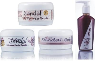 Adidev Herbals Herbal Skin Brightening Sandal Fairness Pack