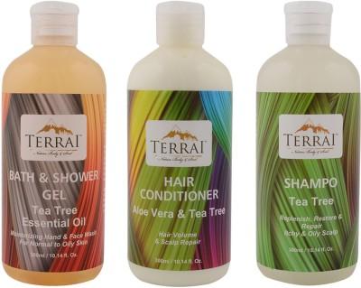 Terrai Tea Tree Bath & Body Care Set
