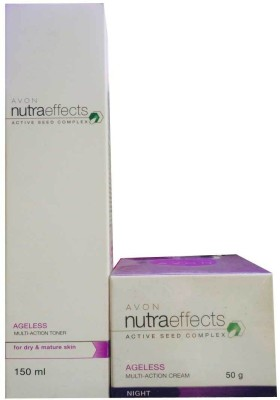 Avon Nutra Effects Ageless Multi-Action Cream and Toner