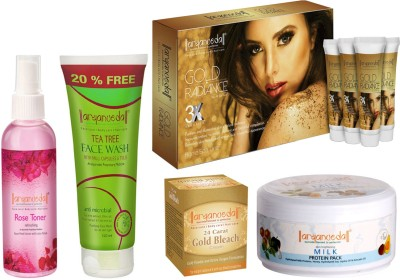 Aryanveda Combo Kit of 5 Sets of Skin Cleansing Beauty Products