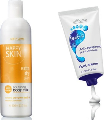 Oriflame Sweden body and foot care combo