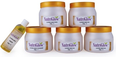 NutriGlow Luster Gold Facial Combo (Set of 6)