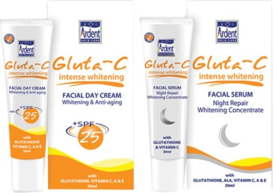 Gluta Intense Whitening SPF-25 Facial Day Cream & Night Serum