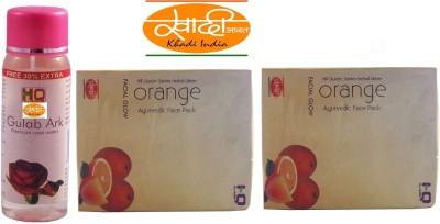 Khadi India ORANGE 2