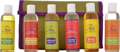 Puro Body & Soul Aromatherapy Essentials Jute Kit