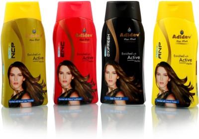 Adidev Herbals Adidev Herbals Summer Care Shampoo Combo Kit (Set of 4)
