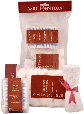 Bare Essentials Cotton Care Pack with Offer