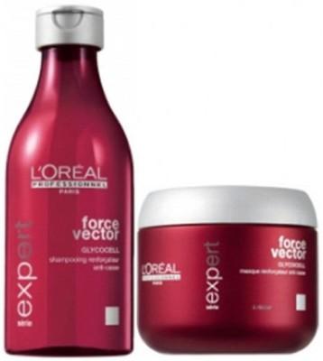 L,Oreal Paris L,Oreal Professionnel Serie Expert Force Vector Shampoo & Masque Combo
