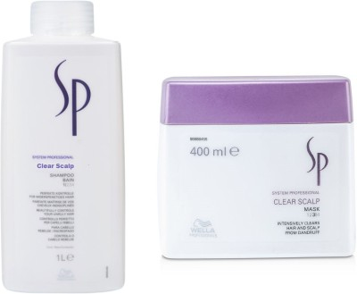 Wella Professionals Sp Clear Scalp Shampoo With Mask