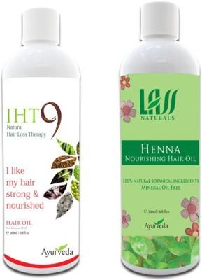 Lass Naturals Iht9 Hair Oil with Henna Hair Oil