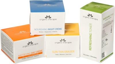 Organic Therapie Glow and Shine Skin Combo