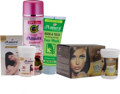 Amura Colour Cosmetics Face Care Combo