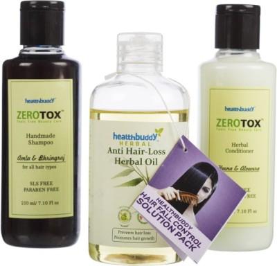 Healthbuddy Hair Fall Control Combo Pack