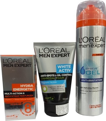 L,Oreal Paris Men Expert Combo