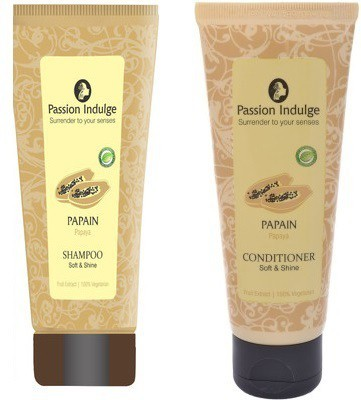 Passion Indulge Papain Shampoo And Papain Conditoner Offer Pack