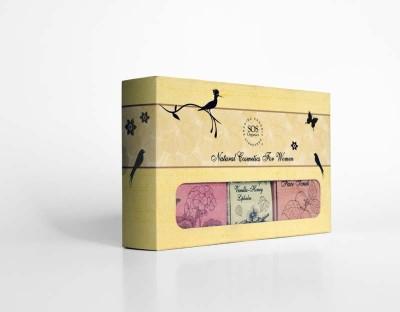 SOS Organics 6-Piece Women's Natural Cosmetics Gift Set from Uttarakhand