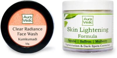 Auravedic Kumkumadi Face Wash & Skin Lightening Formula