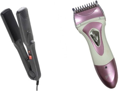 MIFY Supper Hair Straightener & Trimmer combo kit NV-522_BLS-8822