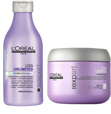 L,Oreal Paris PROFESSIONNEL LISS SHAMPOO AND CONDITIONER