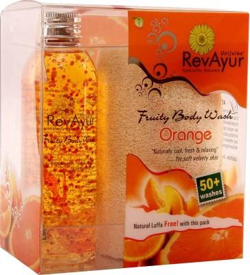 RevAyur Fruity Body Wash - Orange