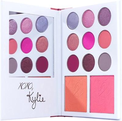Kylie KYLIE'S DIARY   KYSHADOW + BLUSH PALETTE(Set of 2) at flipkart