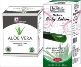 Besure Pigmentation Cream with Body Lotion