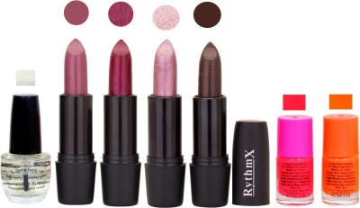 RYTHMX GSR RYTH BLK LIPSTICKS AND NAIL POLISH IMPORTANT COMBO 084