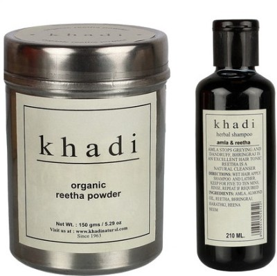 khadi Natural Reetha Hair Conditioning Combo-1