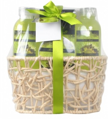 Wellness Spa India Kiwi Gift Set