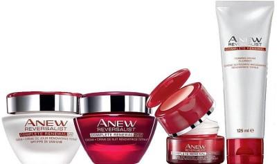 Avon Anew Reversalist Full Size Regimen Kit [Day Cream / Night Cream / Cleanser / Eye Cream]