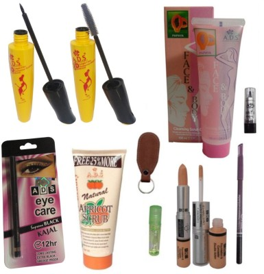 ADS Makeup Combo 10 in 1(Set of 10)