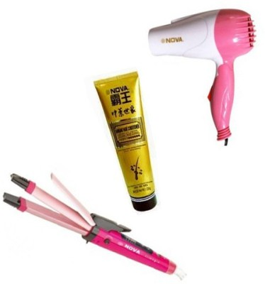 Nova Hair Dryer And Hair Straightener