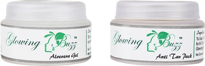 Glowing Buzz GB_3366 - Anti Tan pack and Aloevera gel