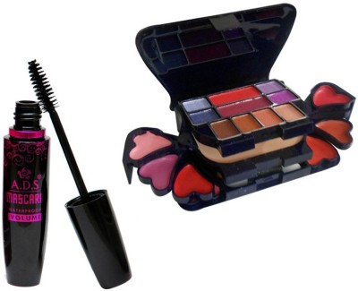 ADS 1625 Mascara, 3746 Makeup Kit(Set of 2)
