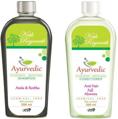 Kesh Regrowth Amla Reetha Shampoo & Anti hair fall Conditioner